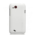Nillkin Matte Hard Cases Skin Covers for HTC T328d Desire VC- White (High transparent screen protector)
