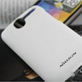 Nillkin Super Matte Hard Cases Skin Covers for HTC A8188 Desire G7 - White (High transparent screen protector)