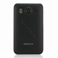 Nillkin Super Matte Hard Cases Skin Covers for HTC Desire HD A9191 A9192 G10 - Black (High transparent screen protector)