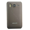 Nillkin Super Matte Hard Cases Skin Covers for HTC Desire HD A9191 A9192 G10 - Brown (High transparent screen protector)