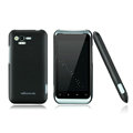 Nillkin Super Matte Hard Cases Skin Covers for HTC Rhyme S510b G20 - Black (High transparent screen protector)