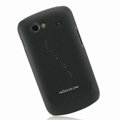 Nillkin Super Matte Hard Cases Skin Covers for Samsung i9020 Nexus S - Black (High transparent screen protector)