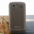 Nillkin Super Matte Hard Cases Skin Covers for Samsung i9020 Nexus S - Brown (High transparent screen protector)
