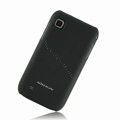 Nillkin Super Matte Hard Cases Skin Covers for Samsung i909 - Black (High transparent screen protector)