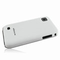 Nillkin Super Matte Hard Cases Skin Covers for Samsung i909 - White (High transparent screen protector)