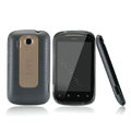 Nillkin Super Matte Rainbow Cases Skin Covers for HTC Explorer Pico A310e - Black (High transparent screen protector)