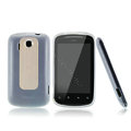 Nillkin Super Matte Rainbow Cases Skin Covers for HTC Explorer Pico A310e - White (High transparent screen protector)