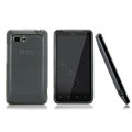 Nillkin Super Matte Rainbow Cases Skin Covers for HTC Raider 4G X710E G19 - Gray (High transparent screen protector)