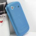Nillkin Super Matte Rainbow Cases Skin Covers for Samsung i9020 Nexus S - Blue (High transparent screen protector)
