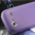 Nillkin Super Matte Rainbow Cases Skin Covers for Samsung i9020 Nexus S - Purple (High transparent screen protector)
