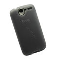 Nillkin Transparent Matte Soft Cases Covers for HTC A8188 Desire G7 - Black (High transparent screen protector)