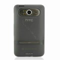 Nillkin Transparent Matte Soft Cases Covers for HTC HD7 T9292 - Black (High transparent screen protector)