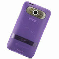 Nillkin Transparent Matte Soft Cases Covers for HTC HD7 T9292 - Purple (High transparent screen protector)