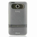 Nillkin Transparent Matte Soft Cases Covers for HTC HD7 T9292 - White (High transparent screen protector)
