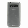 Nillkin Transparent Matte Soft Cases Covers for HTC Trophy T8686 - White (High transparent screen protector)