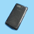 Nillkin Transparent Rainbow Soft Cases Covers for HTC HD Mini T5555 Aria A6380 G9 - Black (High transparent screen protector)