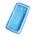 Nillkin Transparent Rainbow Soft Cases Covers for HTC Legend A6363 G6 - Blue (High transparent screen protector)