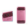 Nillkin Transparent Rainbow Soft Cases Covers for HTC Legend A6363 G6 - Pink (High transparent screen protector)