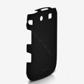 ROCK Naked Shell Hard Cases Covers for BlackBerry 9800 - Black (High transparent screen protector)