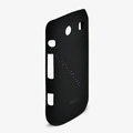 ROCK Naked Shell Hard Cases Covers for BlackBerry 9860 Monza - Black (High transparent screen protector)