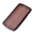 ROCK Side Flip leather Cases Holster Skin for Samsung i9250 GALAXY Nexus Prime i515 - Coffee