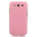 Nillkin Bright Side Hard Cases Skin Covers for Samsung I9300 Galaxy SIII S3 - Pink (High transparent screen protector)