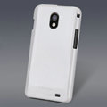 Nillkin Colorful Hard Cases Skin Covers for Samsung E120L GALAXY S2 SII HD LTE - White (High transparent screen protector)