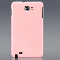 Nillkin Colorful Hard Cases Skin Covers for Samsung Galaxy Note i9220 N7000 i717 - Pink (High transparent screen protector)