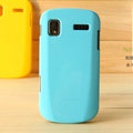 Nillkin Colorful Hard Cases Skin Covers for Samsung I917 Focus Cetus SGH-I917 - Blue (High transparent screen protector)