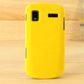 Nillkin Colorful Hard Cases Skin Covers for Samsung I917 Focus Cetus SGH-I917 - Yellow (High transparent screen protector)