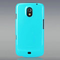 Nillkin Colorful Hard Cases Skin Covers for Samsung i9250 GALAXY Nexus Prime i515 - Blue (High transparent screen protector)