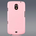 Nillkin Colorful Hard Cases Skin Covers for Samsung i9250 GALAXY Nexus Prime i515 - Pink (High transparent screen protector)