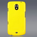 Nillkin Colorful Hard Cases Skin Covers for Samsung i9250 GALAXY Nexus Prime i515 - Yellow (High transparent screen protector)