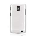Nillkin Colorful Hard Cases Skin Covers for Samsung i929 Galaxy S II DUOS - White (High transparent screen protector)