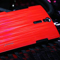 Nillkin Dynamic Color Hard Cases Skin Covers for Sony Ericsson LT26i Xperia S - Red (High transparent screen protector)