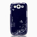 Nillkin Platinum Elegant Hard Cases Skin Covers for Samsung Galaxy SIII S3 I9300 I9308 - Douban Flower (High transparent screen protector)