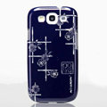 Nillkin Platinum Elegant Hard Cases Skin Covers for Samsung Galaxy SIII S3 I9300 I9308 - Jardiniere (High transparent screen protector)