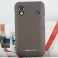Nillkin Super Hard Cases Skin Covers for Samsung Galaxy Ace S5830 i579 - Brown (High transparent screen protector)
