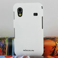 Nillkin Super Hard Cases Skin Covers for Samsung Galaxy Ace S5830 i579 - White (High transparent screen protector)