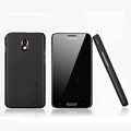 Nillkin Super Matte Hard Cases Skin Covers for Samsung E120L GALAXY S2 SII HD LTE - Black (High transparent screen protector)