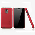Nillkin Super Matte Hard Cases Skin Covers for Samsung Epic 4G Touch D710 - Red (High transparent screen protector)
