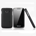 Nillkin Super Matte Hard Cases Skin Covers for Samsung S5380 Wave Y - Black (High transparent screen protector)