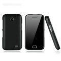 Nillkin Super Matte Hard Cases Skin Covers for Samsung i589 - Black (High transparent screen protector)
