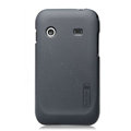 Nillkin Super Matte Hard Cases Skin Covers for Samsung i619 Galaxy Ace Dear - Gray (High transparent screen protector)