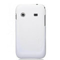 Nillkin Super Matte Hard Cases Skin Covers for Samsung i619 Galaxy Ace Dear - White (High transparent screen protector)