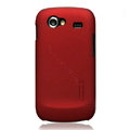 Nillkin Super Matte Hard Cases Skin Covers for Samsung i9023 i9020 Nexus S - Red (High transparent screen protector)