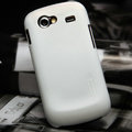 Nillkin Super Matte Hard Cases Skin Covers for Samsung i9023 i9020 Nexus S - White (High transparent screen protector)