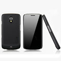 Nillkin Super Matte Hard Cases Skin Covers for Samsung i9250 GALAXY Nexus Prime i515 - Black (High transparent screen protector)