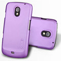 Nillkin Super Matte Hard Cases Skin Covers for Samsung i9250 GALAXY Nexus Prime i515 - Purple (High transparent screen protector)