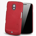 Nillkin Super Matte Hard Cases Skin Covers for Samsung i9250 GALAXY Nexus Prime i515 - Red (High transparent screen protector)